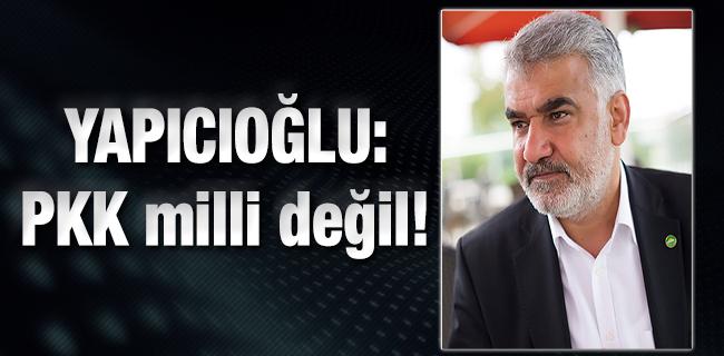 H�DA PAR Genel Ba�kan�: PKK milli de�il!