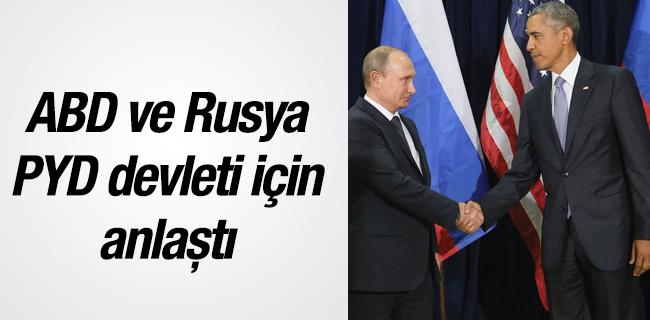 ABD-Rusya PYD devleti i�in anla�t�