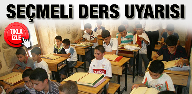SE�MEL� DERS UYARISI