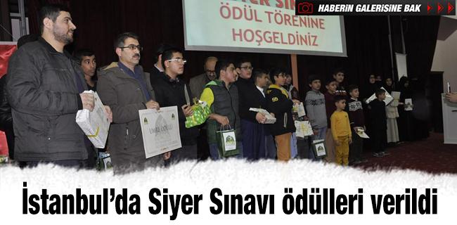İstanbul'da Siyer Sınavı ödülleri verildi