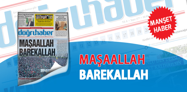 Diyarbak�r`da Muhte�em Kutlu  Do�um etkinli�i
