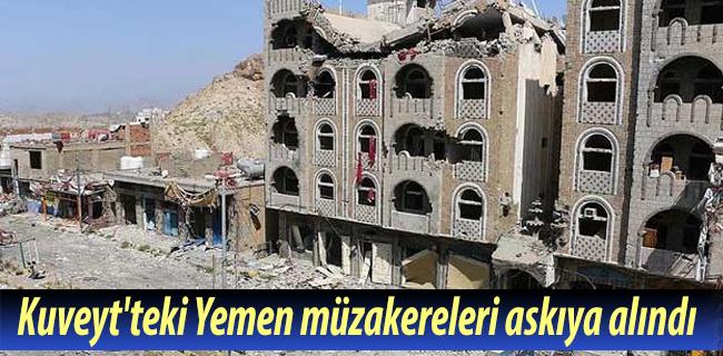 Kuveyt`teki Yemen m�zakereleri ask�ya al�nd�