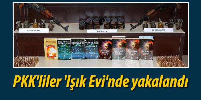 PKK`liler `I��k Evi`nde yakaland�