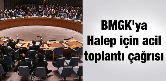 �ngiltere`den BMGK`ya Halep i�in acil toplant� �a�r�s�
