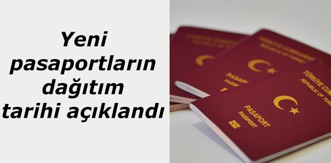 Yeni pasaportlar i�in da��t�m tarihi a��kland�