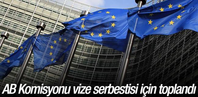AB Komisyonu vize serbestisi i�in topland�