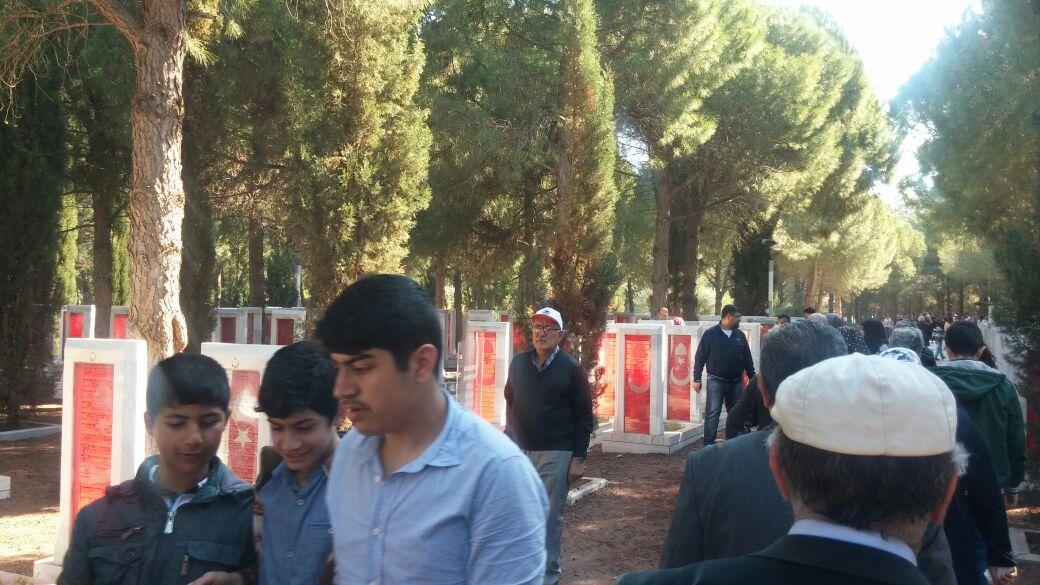Taksim Camisi kendini gösterdi!