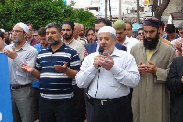 Adanada Rahman Nizami i�in g�yabi cenaze namaz� k�l�nd�