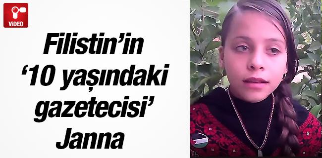Filistin`in �10 ya��ndaki gazetecisi` Janna