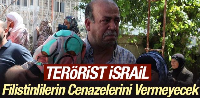 Ter�r rejimi israil, Filistinlilerin cenazelerini vermeyecek