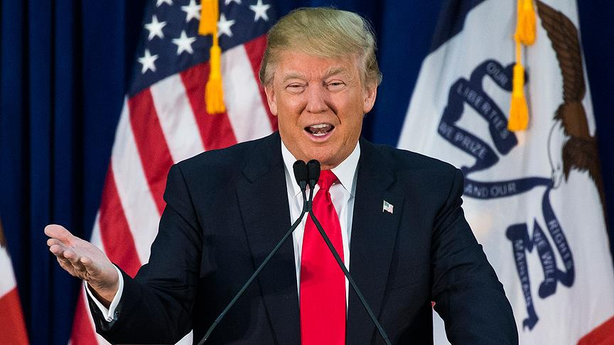 �slam d��man� Trump aday olmaya hak kazand�