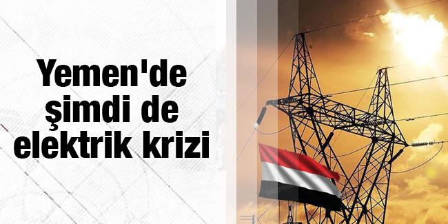 Yemen`de �imdi de elektrik krizi
