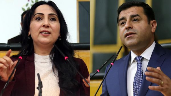 Indictments seeking jail for Demirtas, Yuksekdag and Bestas