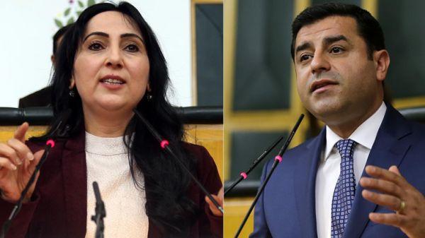 Indictments seeking jail for Demirtas, Yuksekdag and Bestas