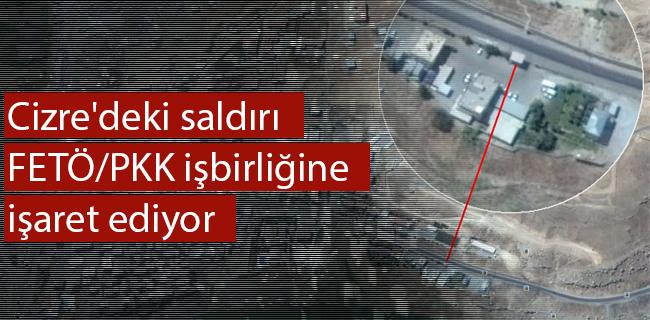 Cizre`deki sald�r� FET�/PKK i�birli�ine i�aret ediyor