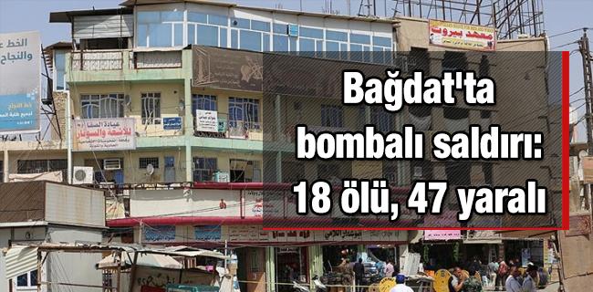 Ba�dat`ta bombal� sald�r�: 18 �l�, 47 yaral�