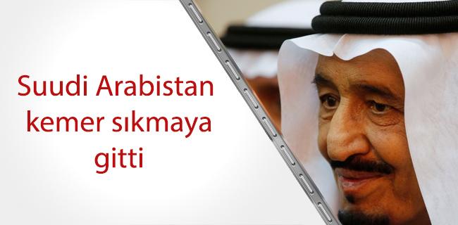 Suudi Arabistan`da kemer s�kma maa�lardan ba�lad�