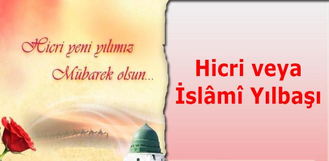 Hicri veya �sl�m� Y�lba��