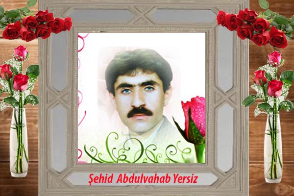 Şehid Abdulvahab Yersiz