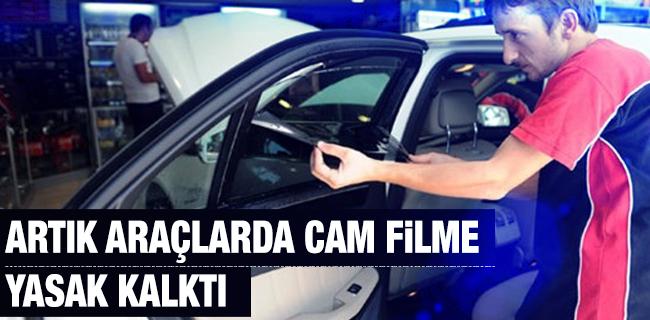 Art�k Ara�larda Cam Filme Yasak Kalkt�