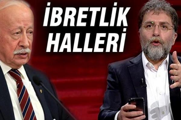 Ahmet Hakan ve Oktay Ekşi`nin ibretlik hali