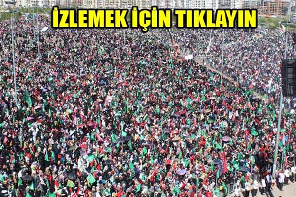 Diyarbakır`da 100 Binler Peygamber`ine sahip çıktı