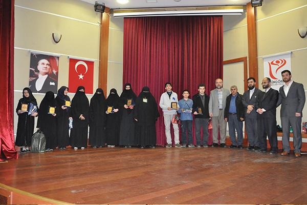 UKV ve İlim-Der Siyer Sınavı ödüllerini verdi