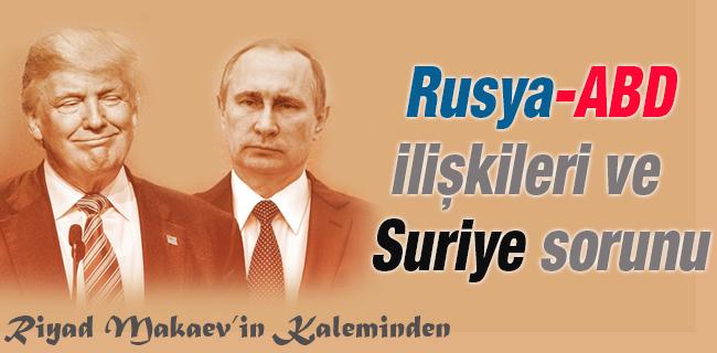 Rusya ABD Ilikileri Ve Suriye Sorunu