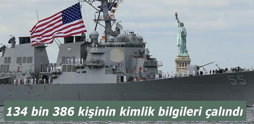 ABD Deniz Kuvvetleri personelinin bilgileri çalındı
