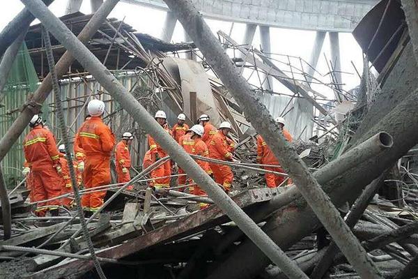 Çin'deki göçükte ölü sayısı 74'e yükseldi