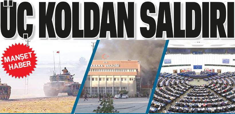 AB - EL BAB - ADANA ÜÇ KOLDAN SALDIRI