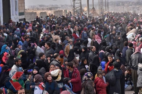 Immigration continues from Aleppo