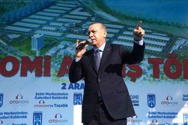 Cumhurbaşkanı Erdoğan: Dövizinizi altına TL`ye dönüştürün