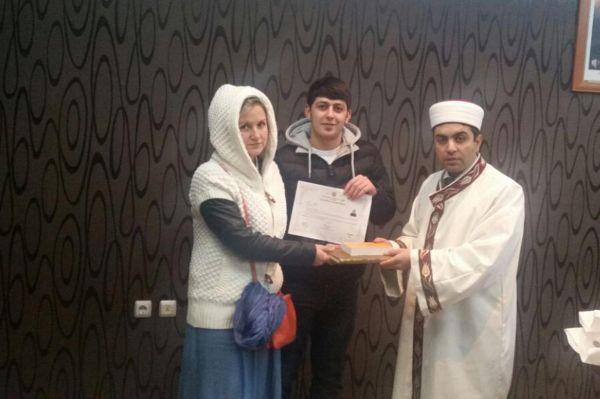 Rus kadın Müslüman oldu