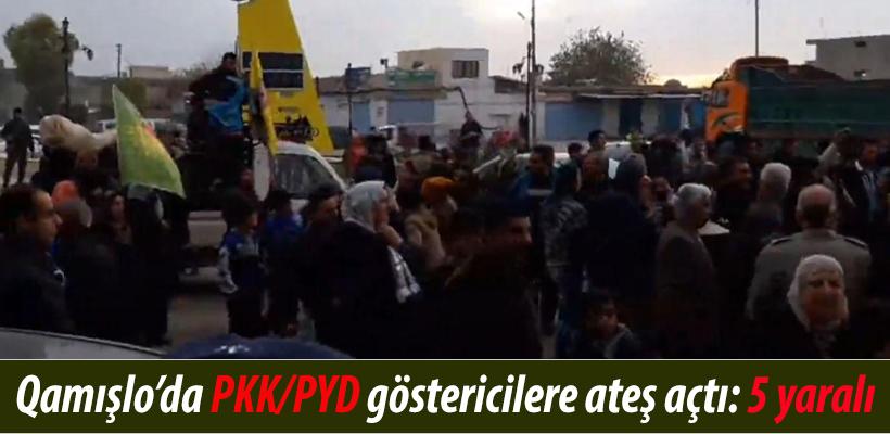 Qamışlo`da PKK/PYD göstericilere ateş açıldı: 5 yaralı