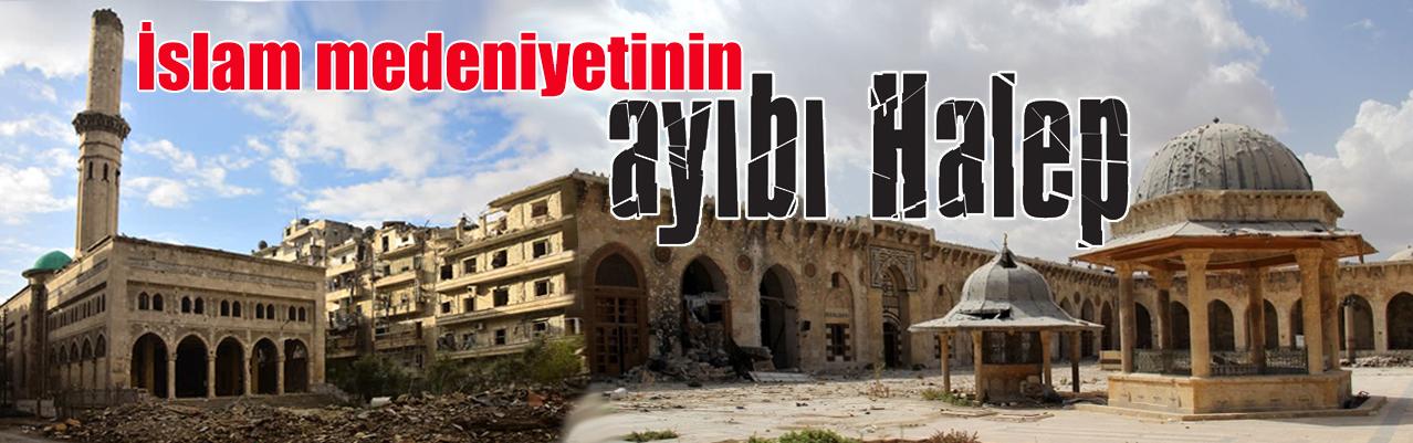 İslam medeniyetinin ayıbı Halep