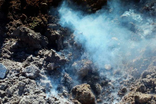 Nusaybin`de bulunan patlayıcı imha edildi