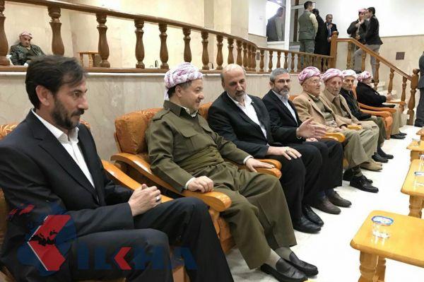 Condolence visit to Barzani from delegation of HUDA PAR