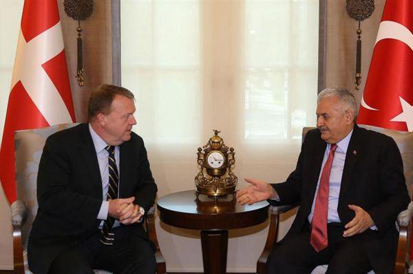 Başbakan Yıldırım Danimarka Başbakanı`yla görüştü
