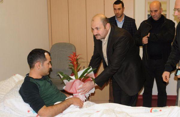 Mardin`de doktor darp edildi