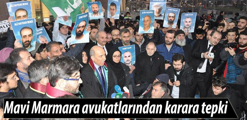 Mavi Marmara avukatlarından karara tepki