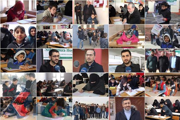 Türkiye`nin bir çok yerinde `Meal Sınavı` heyecanı yaşandı