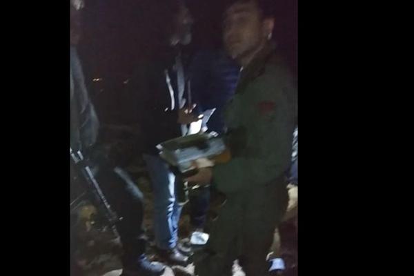 Düşen uçaktan sağ kurtulan pilotun görüntüleri ortaya çıktı