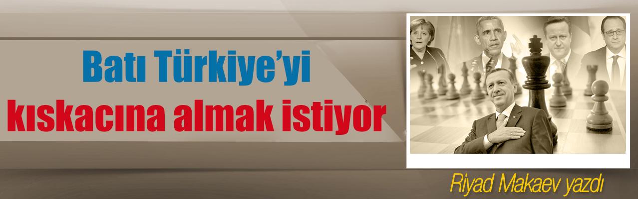 Batı Türkiye'yi kıskacına almak istiyor