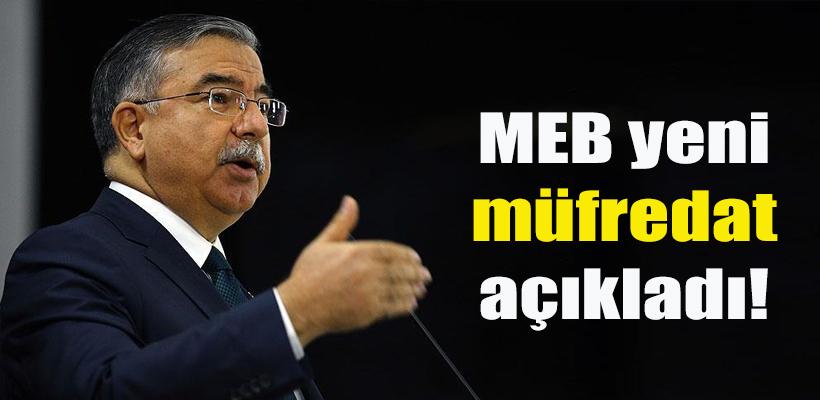 MEB yeni müfredat açıkladı!