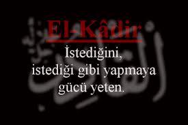 El - Kâdir (c.c.)