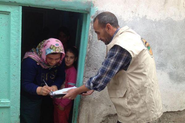 Gaziantep Umut-Der 2016`da binlerce aileye yardım etti