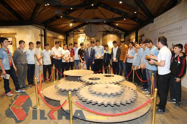 İslam bilim tarih müzesi öğrencilere ilham kaynağı oluyor