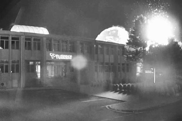 TÜRKSAT`ın bombalanmasının yeni görüntüleri...