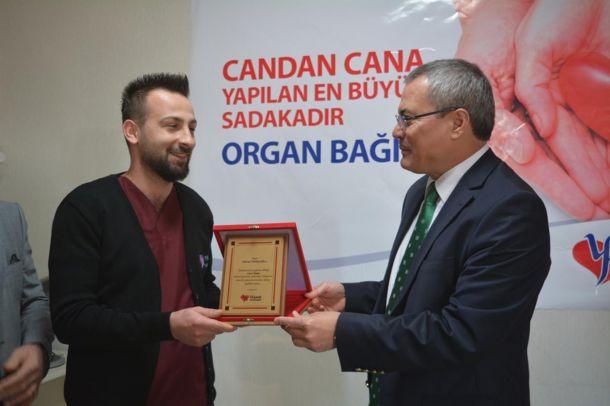 'Candan cana yapılan en büyük sadaka:Organ bağışı'